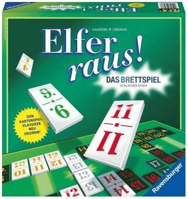 Ravensburger Elfer raus! Das Bettspiel (26588)