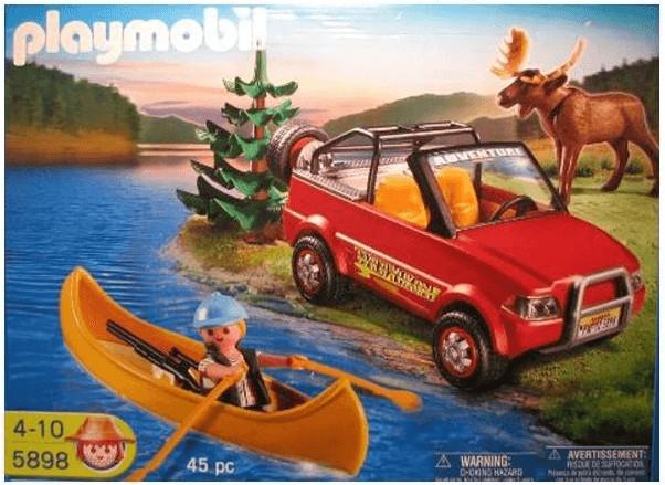 Playmobil Geländewagen mit Kanadier (5898)