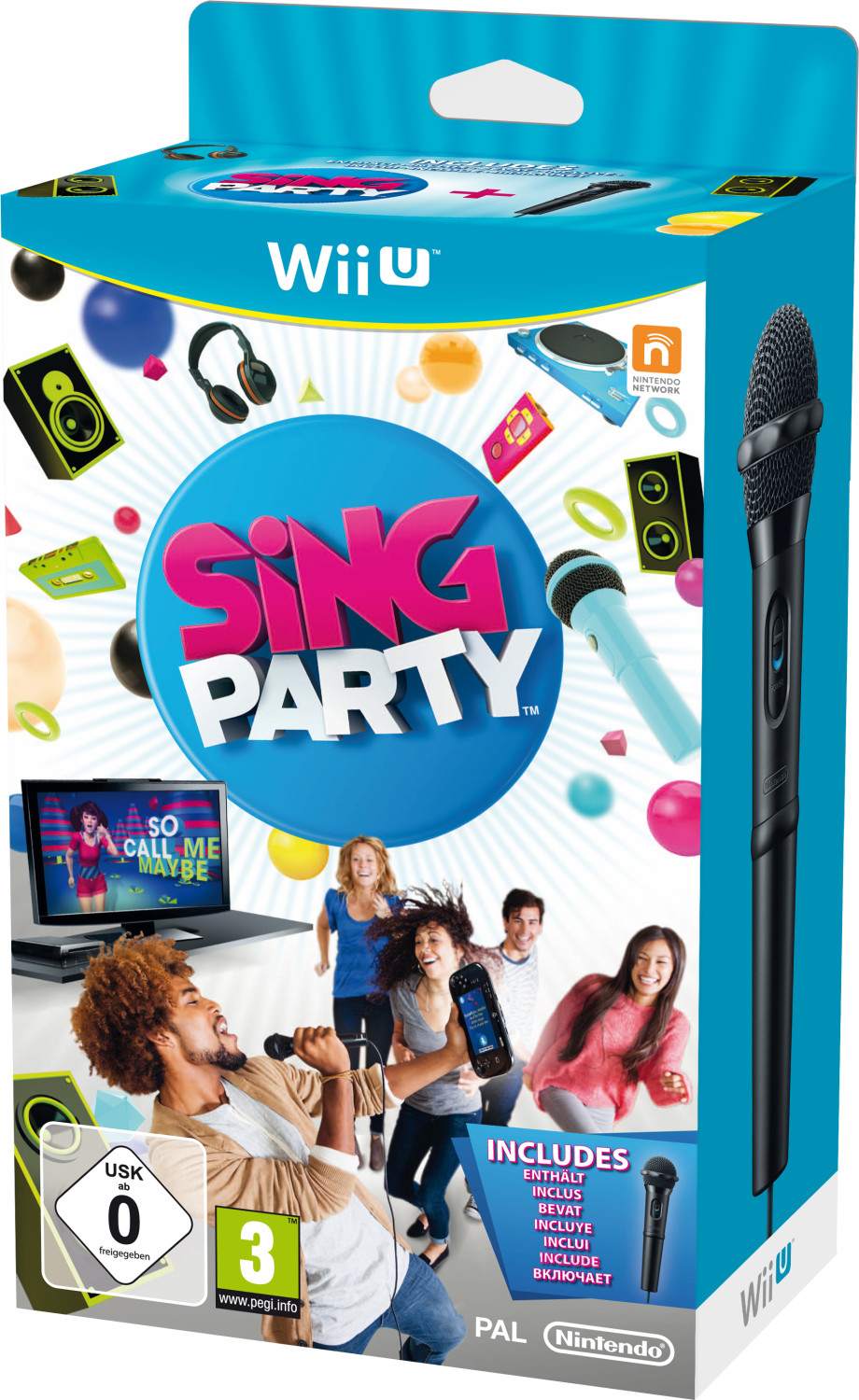 Image of Sing Party + Microfono (Wii U)