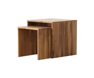 Jan Kurtz Cubus Beistelltisch Wurfel Holz Eiche 42x42x42cm