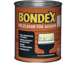 Top Bondex Holzlasur für aussen 0,75 l ab 9,90 €   Preisvergleich bei JE65