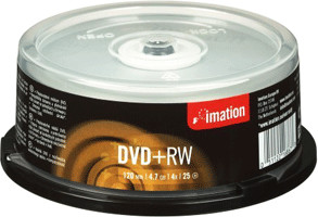 Image of Imation DVD+RW