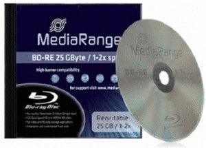 Image of MediaRange BD-RE