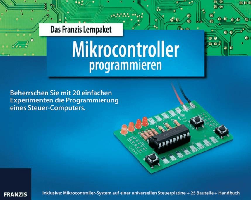 Franzis Lernpaket Mikrocontroller programmieren