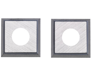 4 Quadratische-Wendeschneidplatten mit 30°-Schneide 14x14x2mm T08MF