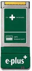 E-Plus UMTS Notebook Card II (90011405)