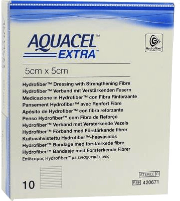 ConvaTec Aquacel extra 5 x5 cm (10 Stk.)