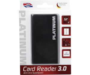 Image of Bestmedia Platinum 177605 Card Reader USB 3.0