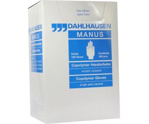 Dahlhausen Copolymer Handschuhe steril Gr.L (100 Stk.) ab
