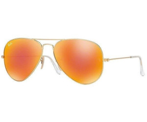 dd53d7e5a9f Buy Ray-Ban Aviator Large Metal RB3025 112 69 (gold matt red mirror ...
