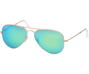 c3a06b4917548 ... Large Metal RB3025 112 19 (gold matt green mirror. Ray-Ban Aviator  Metal RB3025