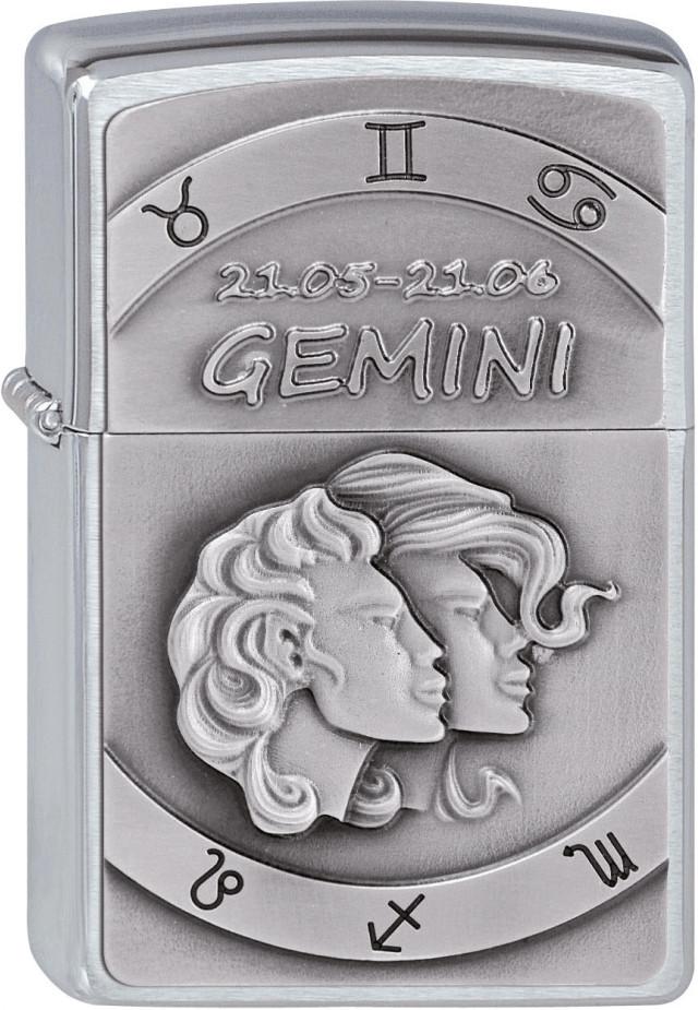 Zippo Gemini Feuerzeug Nr. 200