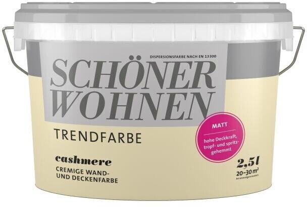 Schoner Wohnen Trendfarbe Matt 2 5 L Ab 12 99 Preisvergleich Bei Idealo De
