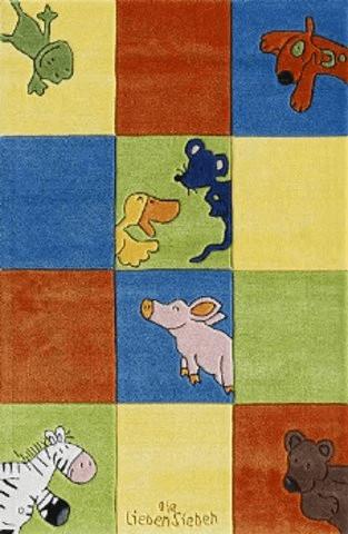 Böing Carpet Die Lieben Sieben Teppich (80 x 150) Karo