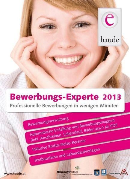 Haude Electronica Bewerbungs-Experte 2013 (DE) ...