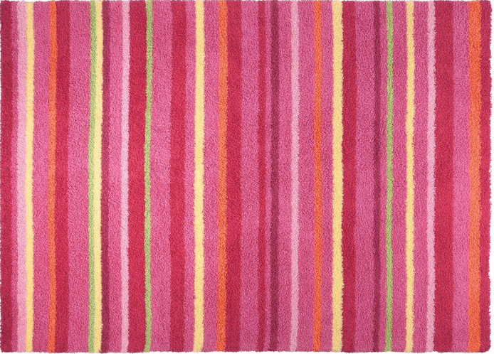 Esprit Home Kinderteppich Funny Stripes pink (140 x 200)