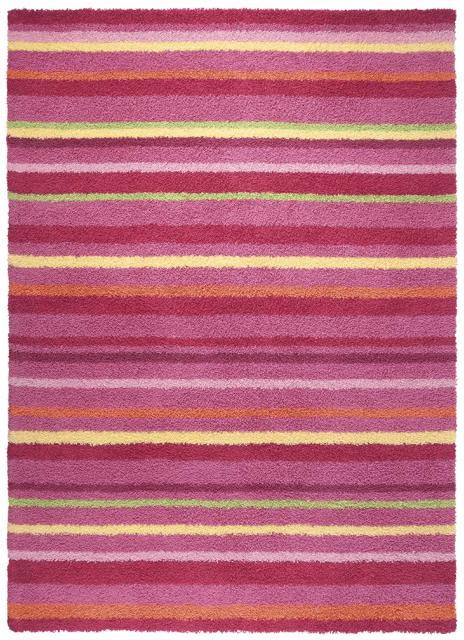 Esprit Home Kinderteppich Funny Stripes pink (120 x 180 cm)