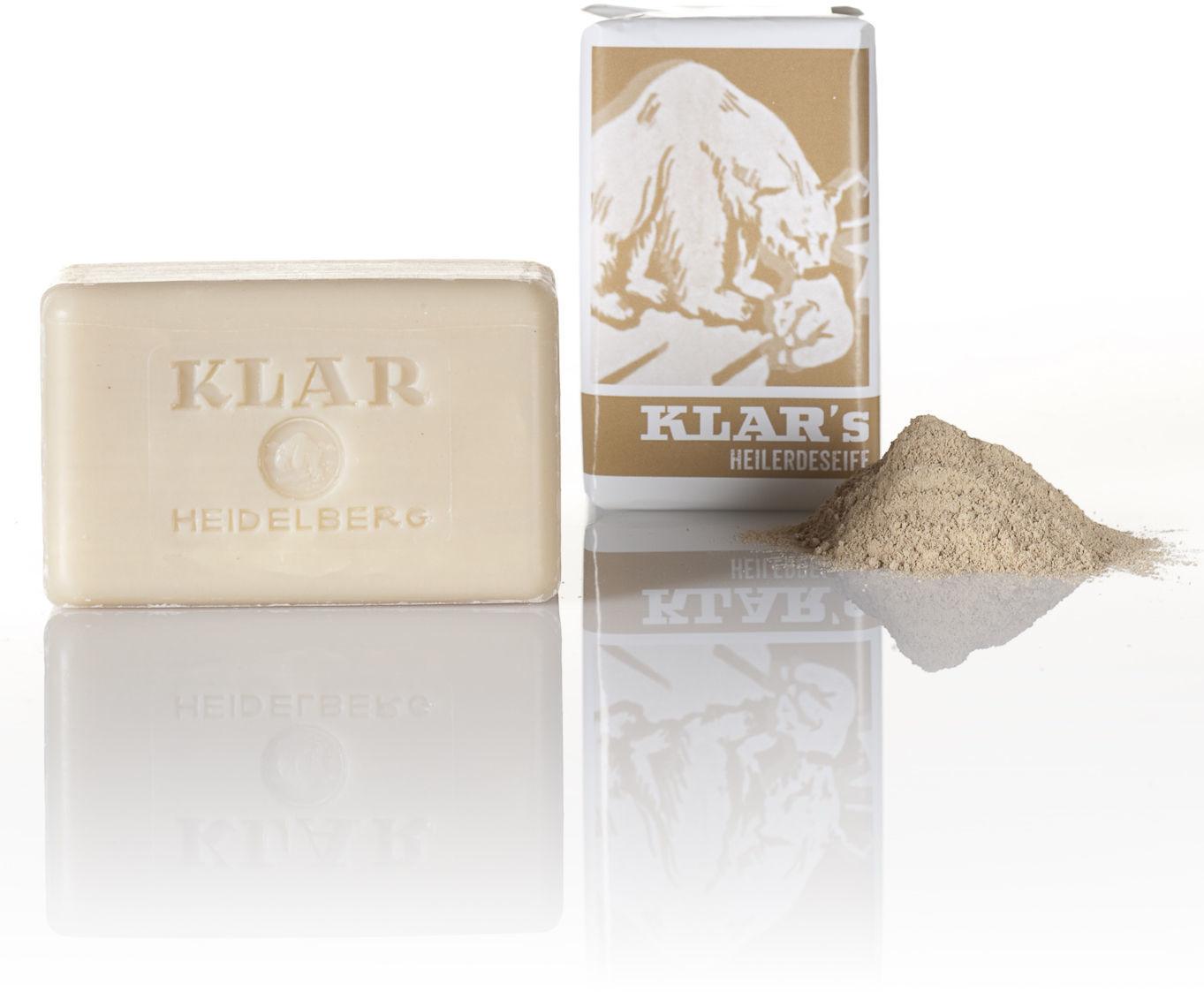 Klar Seifen Heilerde Seife (100 g)