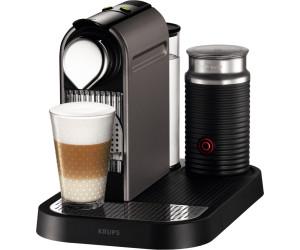 KRUPS xn7605 Nespresso New Citiz /& Milk Cherry Red capsula macchina macchina da caffè