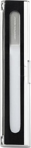 Image of Leighton Denny Crystal Nail File (Aluminium Box)