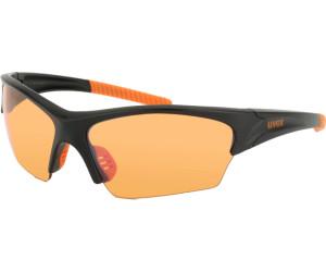 Uvex Sunsation Sportbrille - black orange RpCeTwD