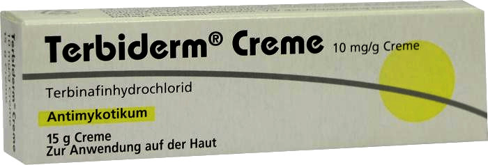 Terbiderm 10 mg/g Creme (15 g)