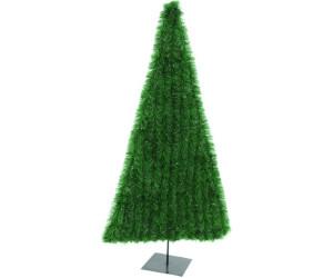 grün 180cm inkl Metallständer flach Europalms Tannenbaum