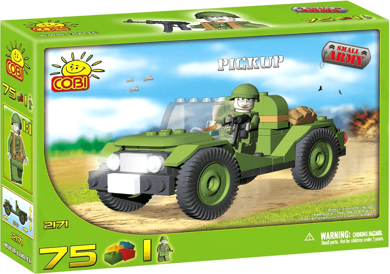 Cobi Small Army - Pickup Patrouille