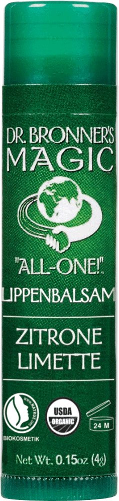 Dr. Bronner's All-One Lippenbalsam Zitrone-Limette (4g)