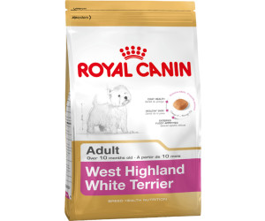 Buy Royal Canin Breed West Highland White Terrier Adult 3 Kg From