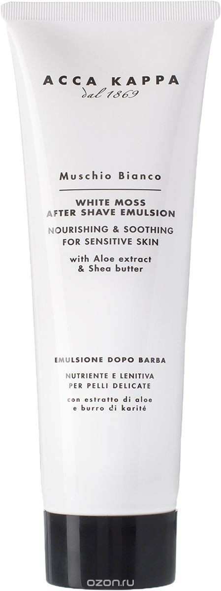 Image of Acca Kappa White Moss After Shave Emulsion (125 ml)