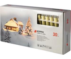 Weihnachtsbeleuchtung Aussen Led Preis.Rotpfeil Led Lichterkette 30 Tlg 9753005500 Ab 76 82