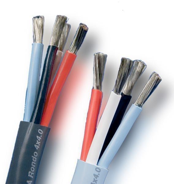 Supra Cables Rondo 4x4.0 LS-Kabel 4 x 4mm² (Meterware)