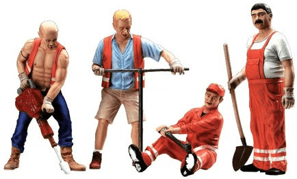LGB Arbeiter-Figuren (51404)