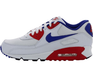 NIKE AIR MAX 90 Essential White Total Orange Midnight Navy