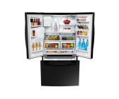 Amerikanischer Kühlschrank Eintürig : Side by side kühlschrank edelstahl look rs k l