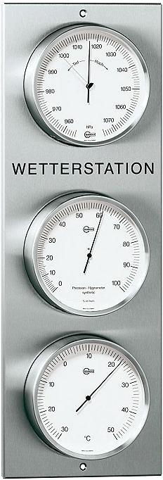 Barigo Wetterstation Au��en- Baro- Hygro- und ...