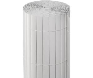 Noor Sichtschutzmatte PVC 180 x 300 cm weiß