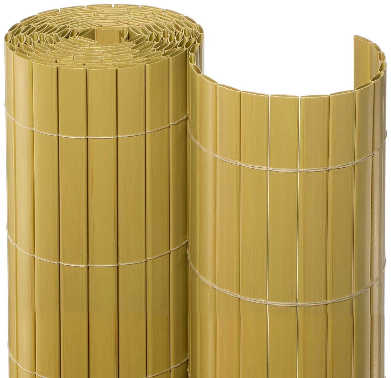 Noor Sichtschutzmatte PVC 100 x 300 cm bambus