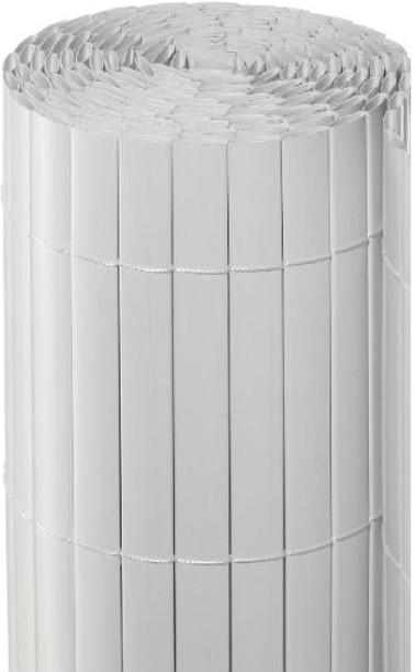 Noor Sichtschutzmatte PVC 120 x 300 cm weiß