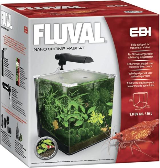 Fluval EBI Nano-Aquarium Kit Garnelen (30 L)