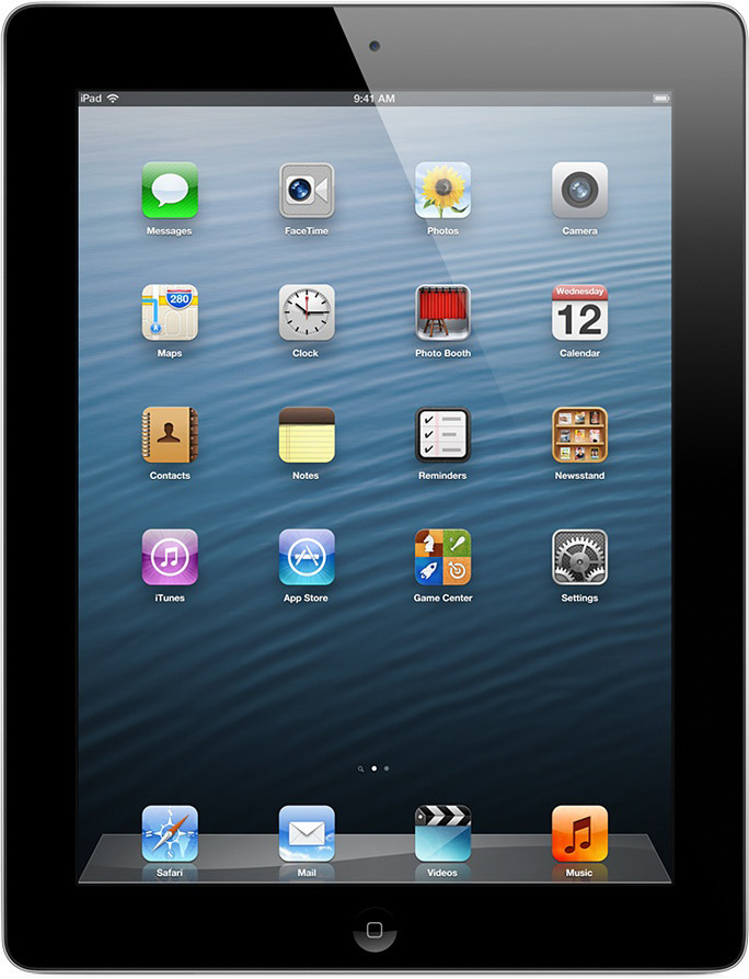Apple iPad 4 16GB WiFi schwarz