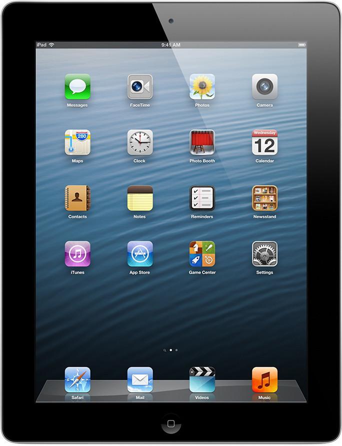 Apple iPad 4 32GB WiFi schwarz