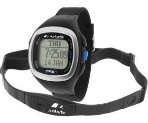 Runtastic Montre GPS avec contrôle cardio-fréquence noire