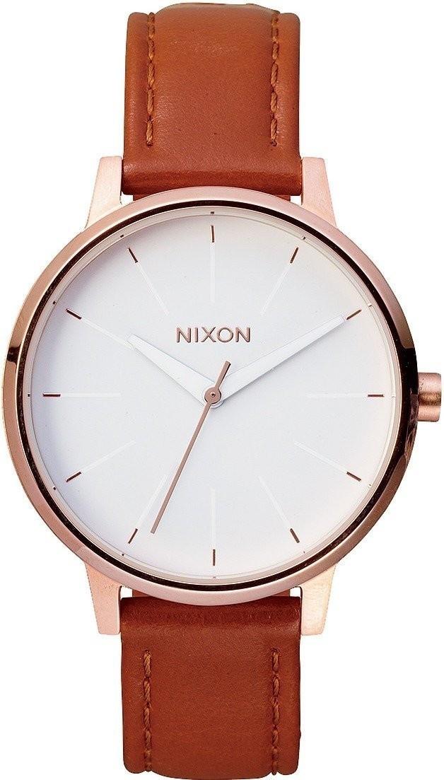 Nixon The Kensington Leather roségold/weiß (A108-1045)