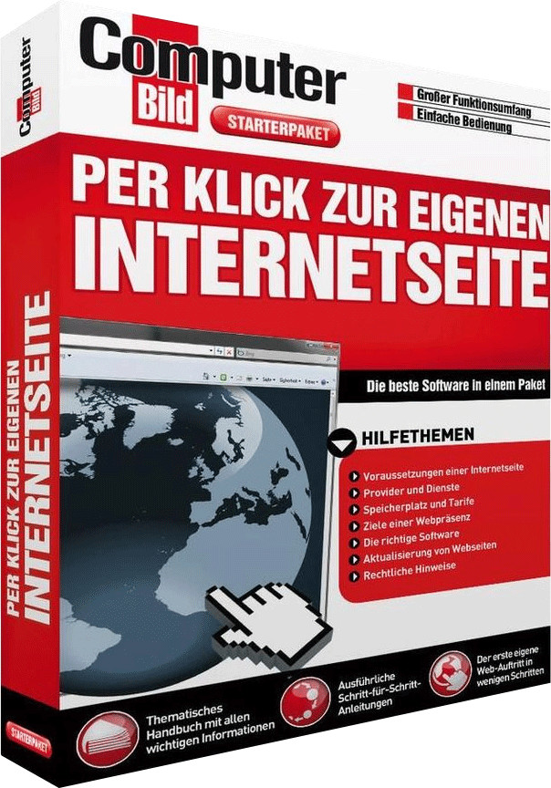 S.A.D. Per Klick zur eigenen Internetseite (Com...