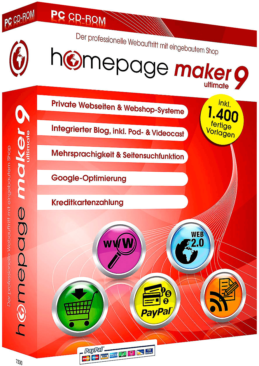 bhv Homepage Maker 9 Ultimate (DE) (Win)