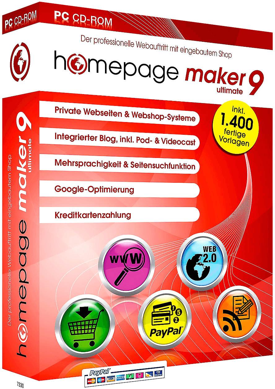 bhv Homepage Maker 9 Ultimate (DE) (Win)