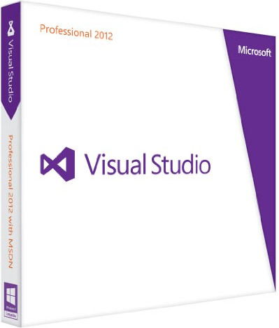 Microsoft Visual Studio 2012 Professional (EN) ...