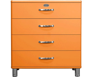 tenzo malibu kommode 4 schubladen 86 cm 5124 ab 220 00 preisvergleich bei. Black Bedroom Furniture Sets. Home Design Ideas